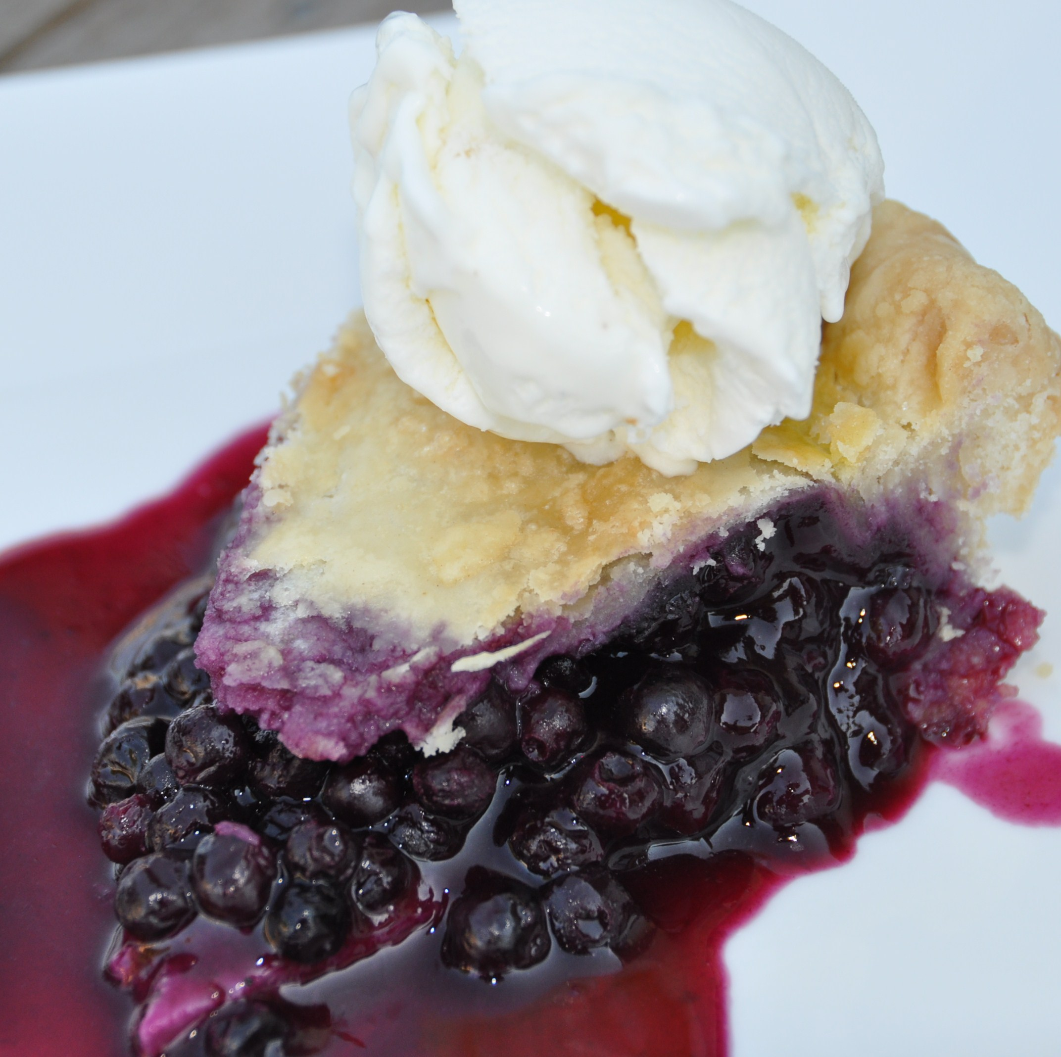 Wild Blueberry Pie | SweetRevelations