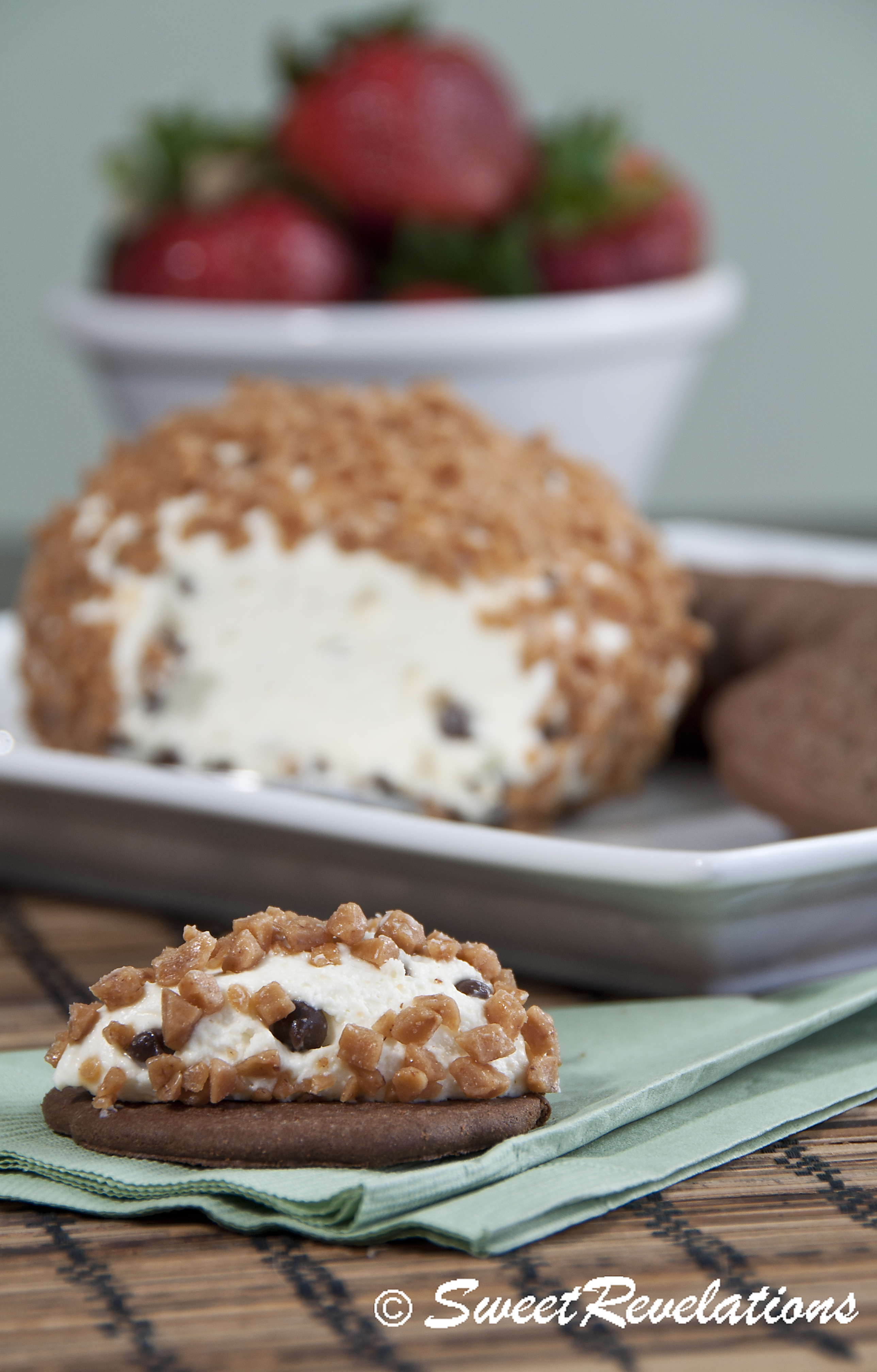 Decadent Chocolate Chip Cheese Ball
