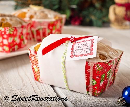 gingerbread gift loaf
