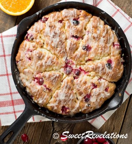 Cranberry Scones SweetRevelations