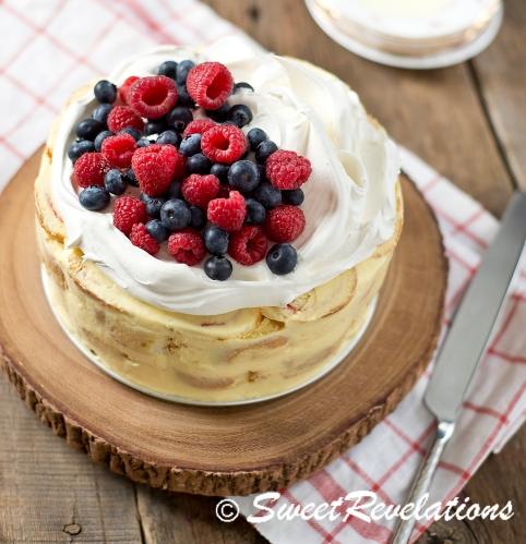 Swiss Roll Layer Cake via SweetRevelations