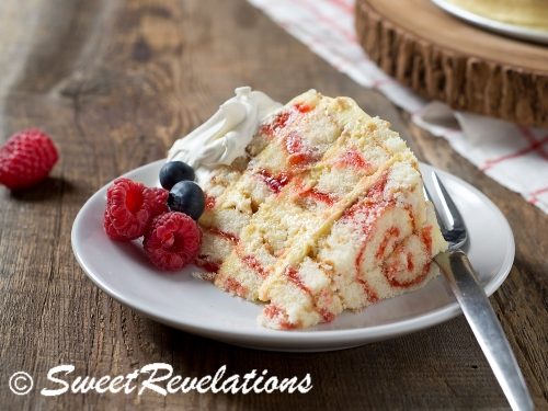Swiss Roll Cake via SweetRevelations