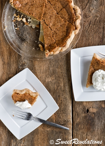 Maple Syrup Pie via SweetRevelations