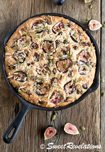 Fig and Date Breakfast Cake via SweetRevelations